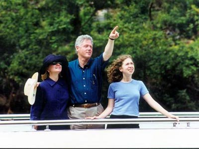 Bill Clinton travel with us