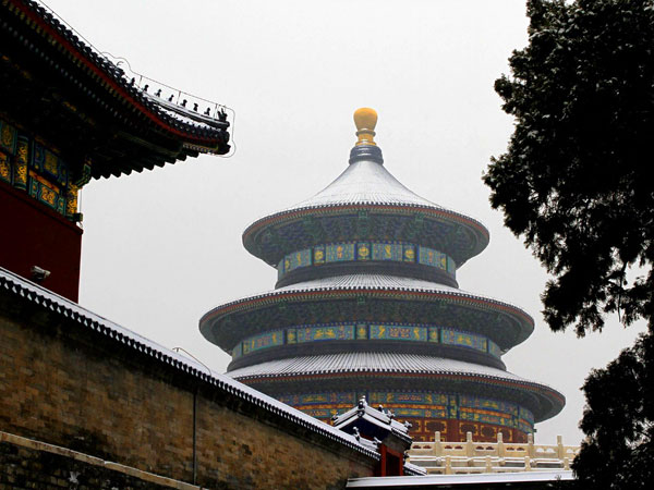 Our clients visiting Temple of Heaven