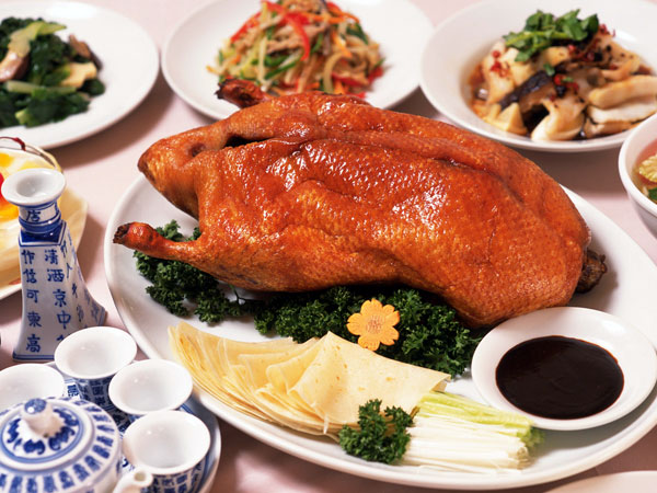 Have a Beijing Roasted Duck Dinner