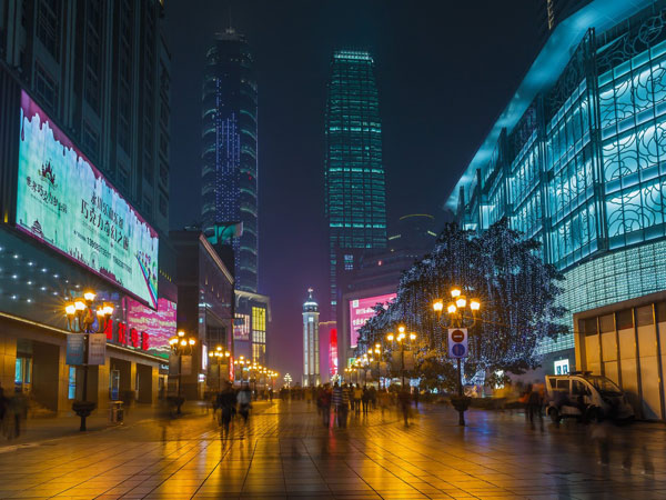 Chongqing City Night View
