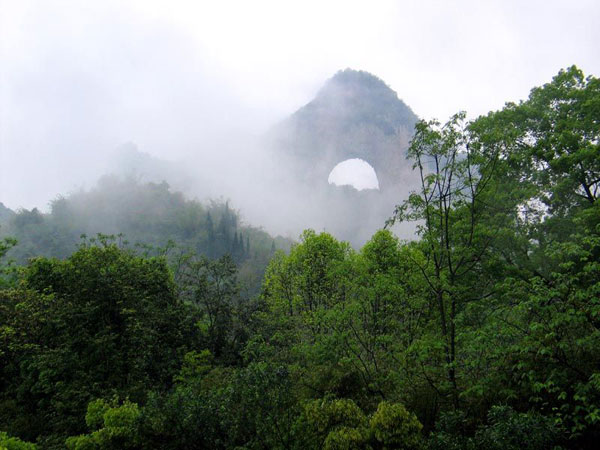 Yangshuo Moon Hill