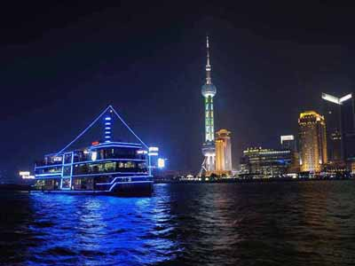 The Bund & the Huangpu River