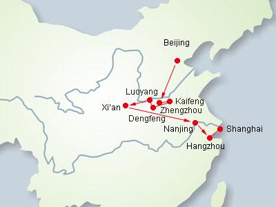 14 Days China Ancient Capitals Tour to BeijingKaifengZhengzhou