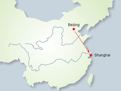Resultado de imagem para Beijing a Shanghai